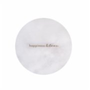 Minval  Happiness & Love Marble Plate