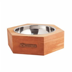 Wood&Tail  Honeycowl Dog Bowl Stand