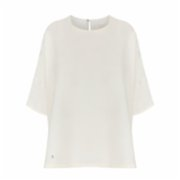 Dor Raw Luxury  Reading To Celsus Linen Blouse