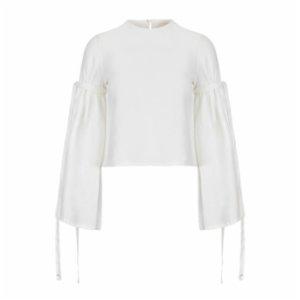 Dor Raw Luxury  At The Imperial Linen Blouse