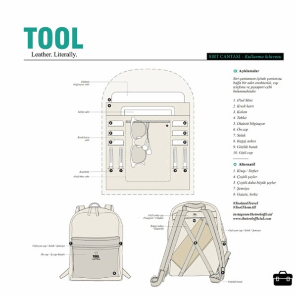 Tool Kit Backpack