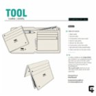 Tool Clamp Wallet