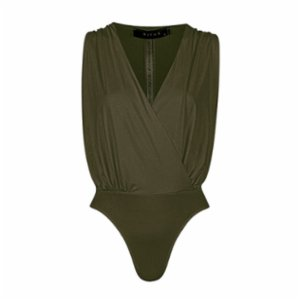 Rivus  Envelope Cut Bodysuit
