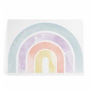 Pop by Gaea  Boheme Watercolor Pastel Rainbow XXL Sticker