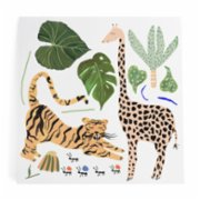 Pop by Gaea  Tiger & Giraffe XL Sticker