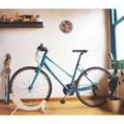 Tufetto Tori Wooden Bicycle Stand