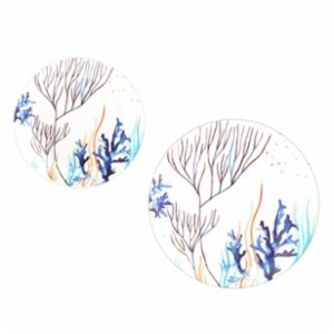 Fern&Co.  Marine Collection Dinner Plate Set (Set of 4)
