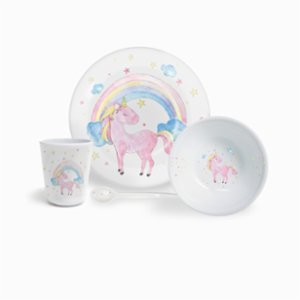Fern&Co.  Kids Magical Unicorn Dinner Set (4 Piece)