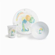 Fern&Co.  Kids Cool Dino Dinner Set (4 Piece)