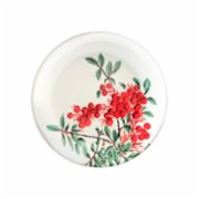 Fern&Co.  Red Berry Collection Desert Plate