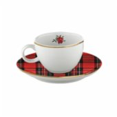 Fern&Co.  Red Berry Collection Turkish Coffee Cup