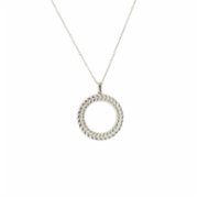 Bodhita  Little Spiga Silver Necklace