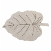 Lorena Canals	  Monstera Naturel Rug