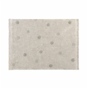 Lorena Canals	  Hippy Dots Olive Rug