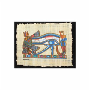 Sauca Collection  Egypt / Eye of Horos on Papyrus