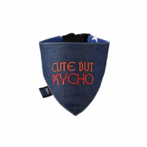 Rock'n Dogs  Cute But Psycho Bandana - I