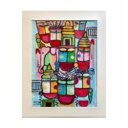Sauca Collection  Bali / Sopheng on Canvas Hand-Made Paper