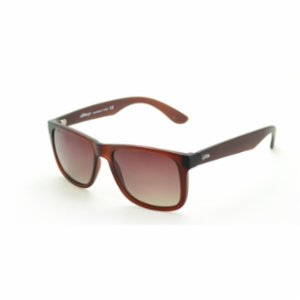 Looklight   Phellos Matte Jelly Brown Men's Sunglasses