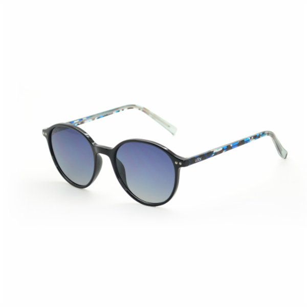 Looklight Ashton Black Unisex Sunglasses