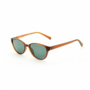 Looklight  Eleven Matte Jelly Brown Girls' Sunglasses