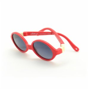 Looklight  Turtle Red Unisex Baby Sunglasses