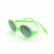 Looklight  Turtle Green Unisex Baby Sunglasses