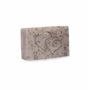 Bade Natural  Natural Peeling Soap With Eucalyptus Oil And Poppy