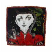 Ubeen  Queen Of The Forest Silk Scarf