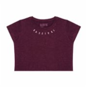 Bassigue  Bordeaux Crop Top