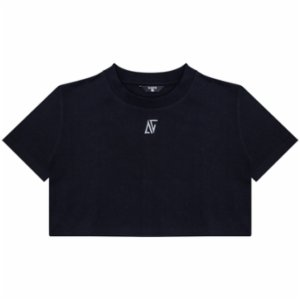 Bassigue  AG High Density Black Crop Top