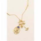 Mi Mujer Atelier Scarab Charm With Doublet Opal