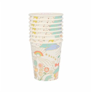 Meri Meri  Happy Paper Cup Set of 8