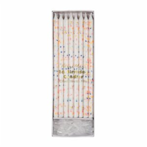 Meri Meri  Multicolor Flecks Candles 24Set