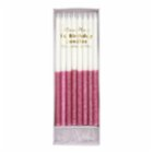 Meri Meri Dark Pink Glitter Dipped Candles 16Set