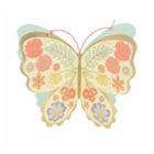 Meri Meri Floral Butterfly Stand-Up Card