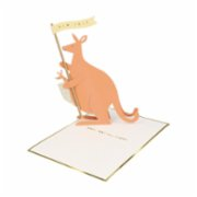 Meri Meri  Baby Kangaroo Stand-Up Card