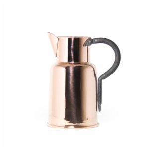 Coho Objet  Artisan Copper Watering Can With Cast Iron Handle