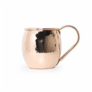 Coho Objet	  Artisan Barrel Hammered Copper Mug