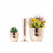 Coho Objet	  Artisan I Love You Copper Planter Set of 3