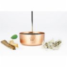 Coho Objet	 Matte Meditation Copper Incense Burner With Sand Set of 3