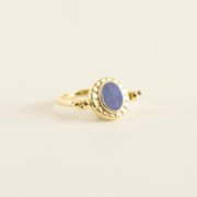 Mi Mujer Atelier  Double Sided Ring With Doublet Opal