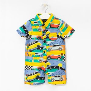 Baby Fou  Cars Jumpsuit
