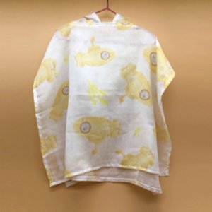 Happy Folks  Yellow Submarine Poncho
