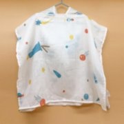 Happy Folks  Lost in Space Organic Poncho