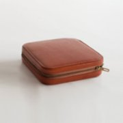 Tuhafier  Brown Leather Vintage Travel Kit