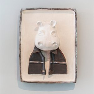 Atölye SIR  Hippo Wall Decor