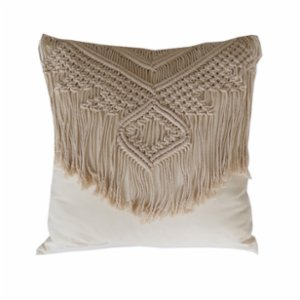 Table and Sofa  Macrame-1 Pillow