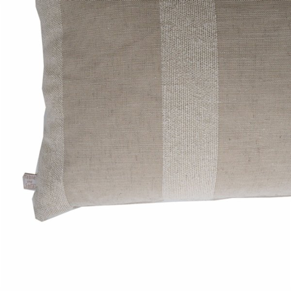 Table and Sofa Widestriped Pillow