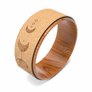Seeka Yoga  Cork Yoga Wheel