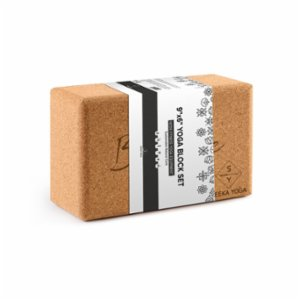 Seeka Yoga  Cork Yoga Block